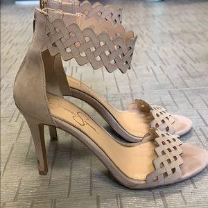 Nude Jessica Simpson sandals